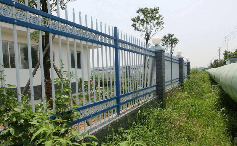 锌钢护栏网案例